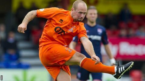 Kilmarnock midfielder Jamie Hamill