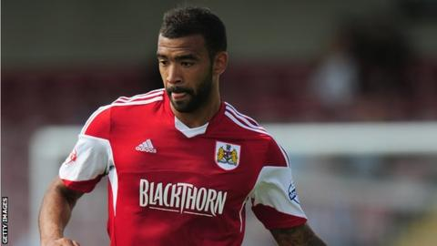 Liam Fontaine in Bristol City colours