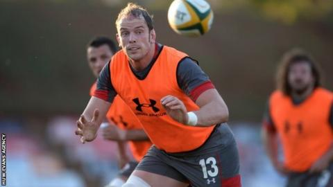 Alun Wyn Jones has won 80 caps for Wales and six for the British & Irish Lions