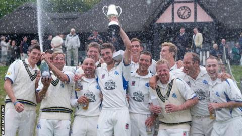 Devon win the 2014 MCCA Trophy