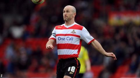 Doncaster Rovers midfielder Paul Keegan