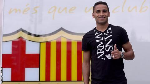 Barcelona sign defender Douglas