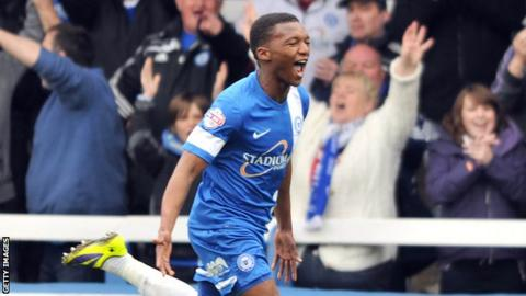 Kgosi Ntlhe scored Peterborough's second goal