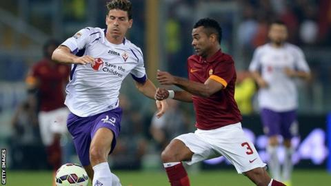 Ashley Cole makes Roma debut