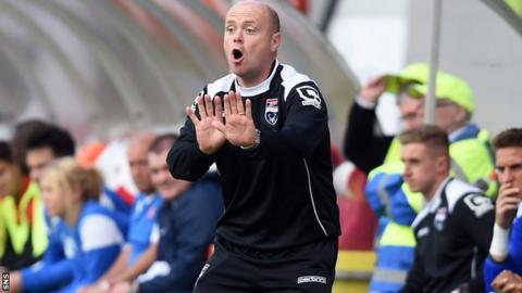 Ross County assistant manager Steve Ferguson
