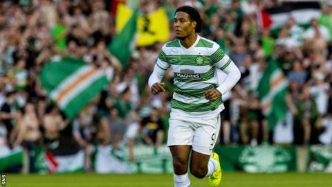 Virgil Van Dijk could be set to leave Celtic Park.