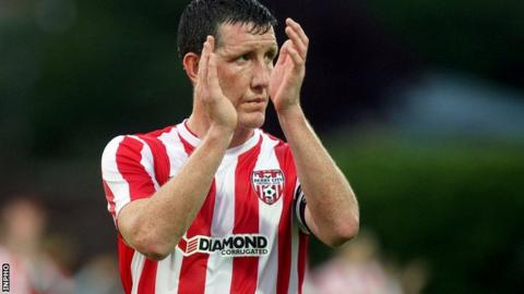 Derry City captain Cliff Byrne leaves the club by mutual consent