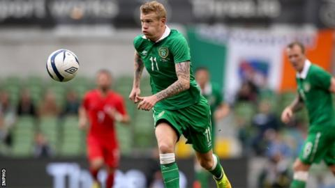 James McClean out of Republic of Ireland's Euro opener against Georgia