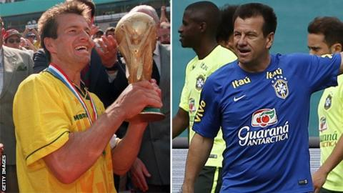 Dunga then and now