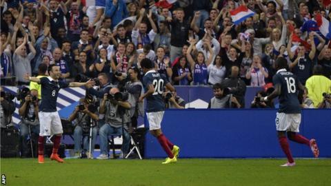 France v Spain