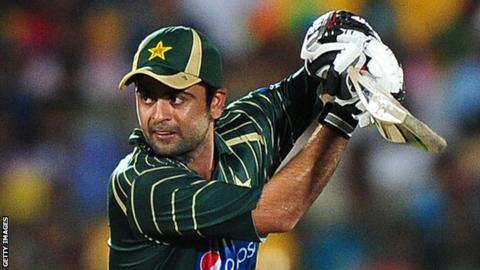 Pakistan opener Ahmed Shehzad