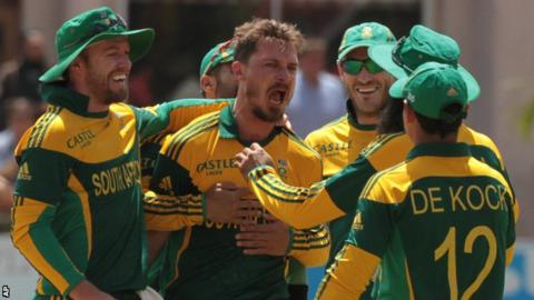 Dale Steyn took 10 wickets in the five-match competition
