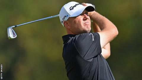 Graeme Storm in action