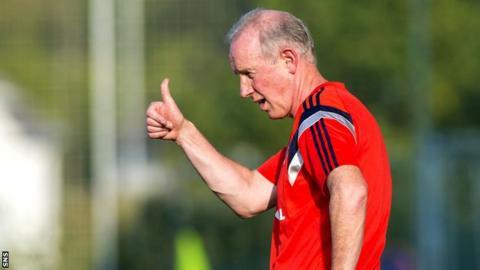Scotland Under-21s manager Billy Stark
