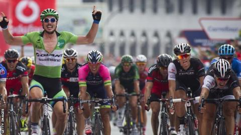 John Degenkolb wins the 17th stage of the Tour of Spain