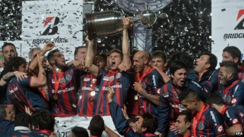 San Lorenzo celebrate