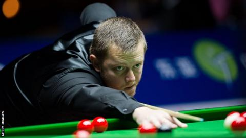 Mark Allen is ninth in the world rankings