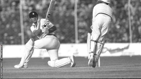 Geoffrey Boycott playing for England