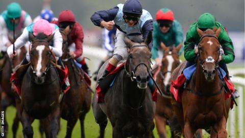Kingston Hill claimed his first classic title at Doncaster