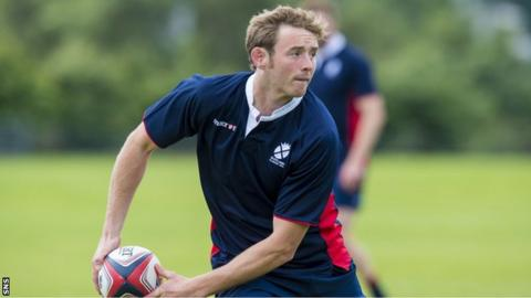 Scotland sevens captain Scott Wight