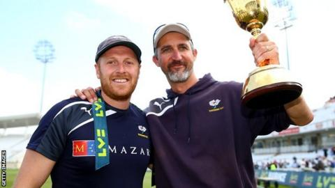 Andrew Gale and Jason Gillespie