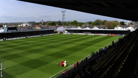 Torquay United's Plainmoor ground