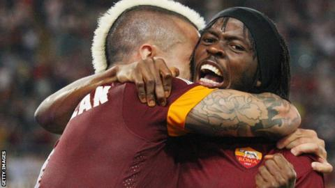 Gervinho (right)