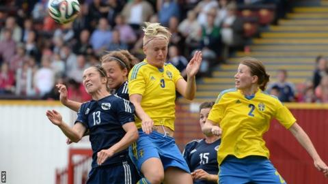 Sweden beat Scotland 3-1 at Fir Park earlier in the World Cup 2015 qualifying campaign
