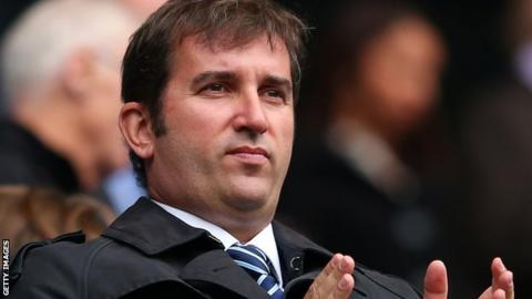Manchester City chief executive Ferran Soriano