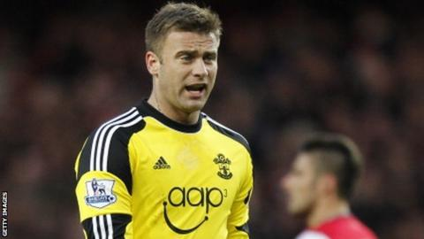 Goalkeeper Artur Boruc in action for Southampton