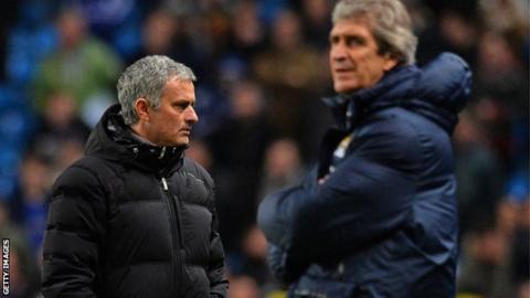 Jose Mourinho and Manuel Pellegrini