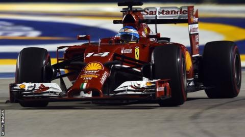 Fernando Alonso_ Singapore Grand Prix