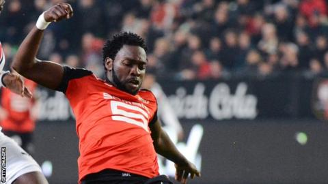 Nigeria defender Onyekachi Apam