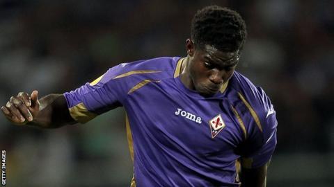 Fiorentina defender Micah Richards