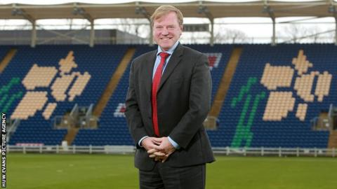 Chief executive Hugh Morris wants Glamorgan to get back to promoting home-grown talent