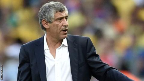New Portugal boss Fernando Santos