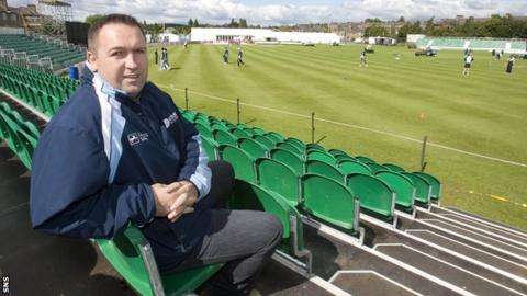 Cricket Scotland chief executive Roddy Smith