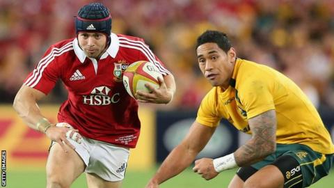 Joe Tomane was part of the Australia side that lost to the British & Irish Lions last summer