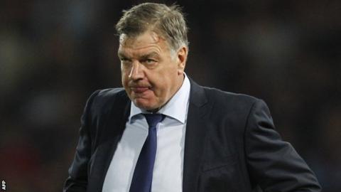 West Ham United manager Sam Allardyce