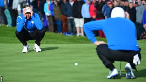 Ian Poulter and Stephen Gallacher
