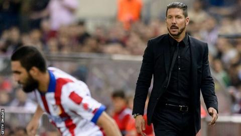 Atletico coach Diego Simeone