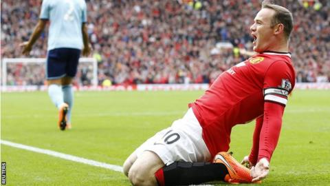 Wayne Rooney scored against West Ham
