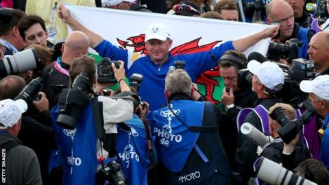 Jamie Donaldson capped a fantastic season with a winning performance on his Ryder Cup debut