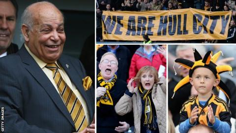 Assem Allam and Hull City fans