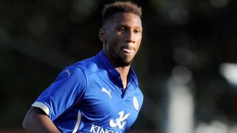 Leicester defender Alie Sesay