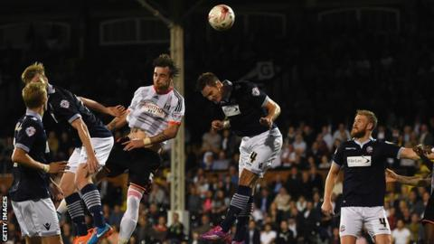 Fulham beat Bolton 4-0 to move above them in the Championship.