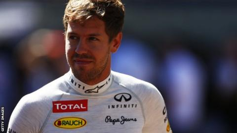 Sebastian Vettel smiling