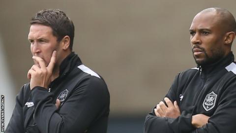 Scott Young and Danny Gabbidon