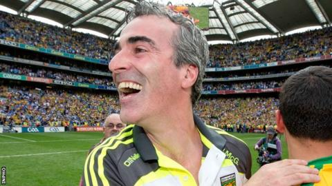 Jim McGuinness guided Donegal to the 2012 All-Ireland Football title
