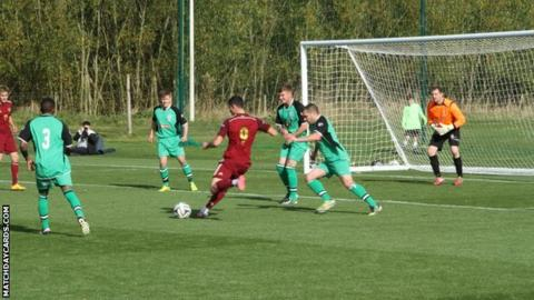Cheadle Town defend another Russia U19 attack